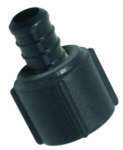 Watts 25P-08 Poly Alloy PEX Faucet Swivel Adapter 1/2-Inch Barb x 1/2-Inch Female Pipe Low-Lead