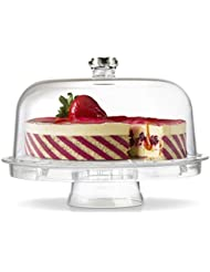 Amazing Acrylic Cake Stand Multifunctional Cake and Serving Stand 30.4 cm (6 Uses)