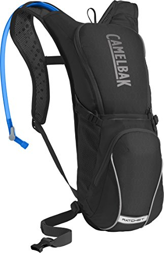 Outdoor Hydration Pack Graphite (CamelBak Ratchet Crux Reservoir Hydration Pack, Black/Graphite, 3 L/100 oz)