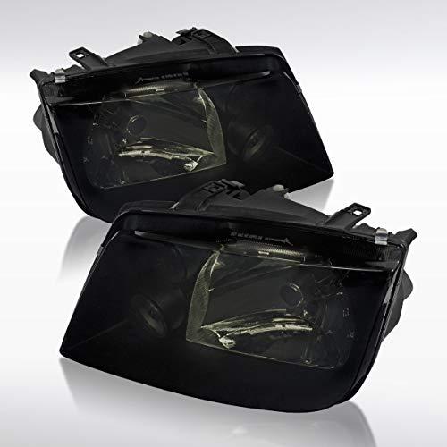 Autozensation For Volkswagen Jetta Mk4 Bora Smoked Headlights W/Drl Fog Lamp