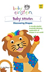 Parents Choice recommendation, Baby Newton Discovering Shapes DVD is hosted by colorful and playful puppets who take your child on a field trip through a shape-filled world of sights, motion and sound. DVD Features: * Baby Newton Discovering ...