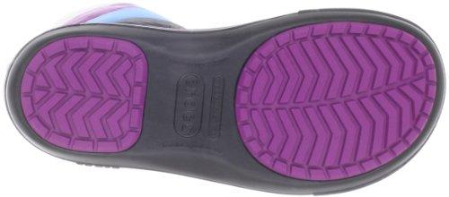 Crocs CrocbandTM II.5 Winter Boot Women - Botas de nieve, color: Blanco Negro (Schwarz (Black/Viola 08A))