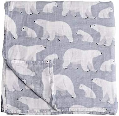 2 Pack Mermaid /& Narwhal Print Baby Unisex Muslin Blanket for Boys and Girls by Little Jump Mermaid Bamboo baby Swaddle Blankets