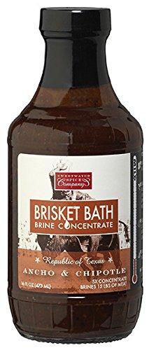 BRISKET BATH Ancho Y Chipotle Brine Four Pack
