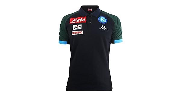 SSC Napoli Polo de representación azul marino oscuro, azul marino ...