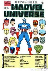Official Handbook of the Marvel Universe Master Edition #2