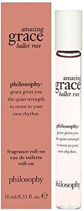 Philosophy Amazing Grace Ballet Rose 0.33 oz Eau De Toilette Roll-On