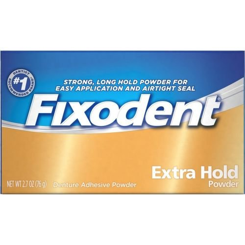 Fixodent Extra Hold Denture Adhesive Powder, 2.7 Ounce -- 24 per case.
