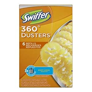 Swiffer Disposable Cleaning Dusters Refills, Unscented, 3 Handle 36 Refills , Swiffer-gwsj