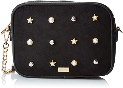 x Negro L Sacs Collection bandoulière Antelina 5 H 50x16x21 Noir W MTNG femme PERLA cm g7wq4HU