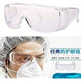 Alextreme Safety Goggles Eyes Shield Protective Glasses Anti Infection Splash Safety Glasses -Full Frame New