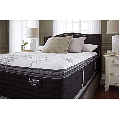 Ashley Furniture Signature Design - Sierra Sleep - Manhattan Design District Plush Pillowtop Mattress