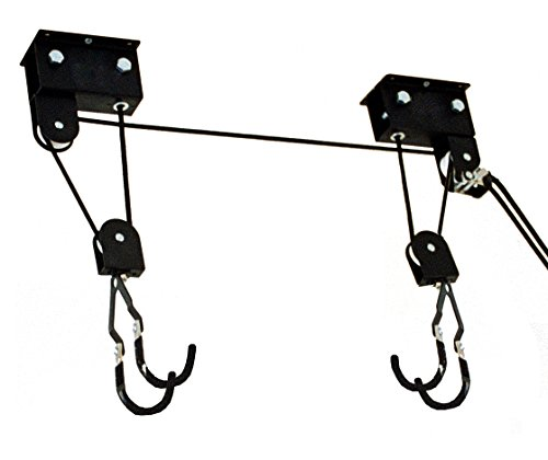 (Gear Up 40030 Up and Away Deluxe Hoist System with Accessory Straps, Black)