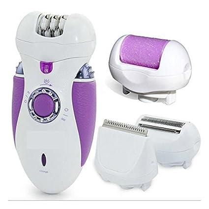 Colyn C1 4 en 1 eléctrica Depiladora para las mujeres,contiene 4 cuchillas de afeitar