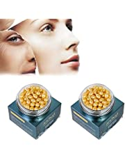 Snake Venom Extract Serum,Anti Aging Serum for Facial Women,Essence Firming and diminishing fine Lines and brightening Skin Tone granular Capsules -Two Boxes