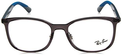 0rx7142 Grey Gris Gafas ban Para Hombre De transparente Monturas Ray a5qxP7w4n