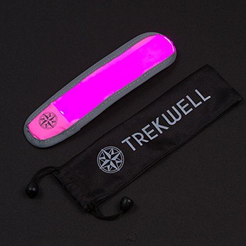 Trekwell LED Sports Safety Flashing Reflective Armband, High Visibility Gear