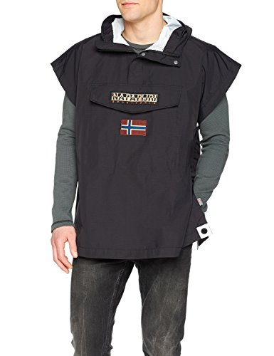 Rainforest Men's Jacket Black 041 Cape Napapijri Black 5fOqHOx