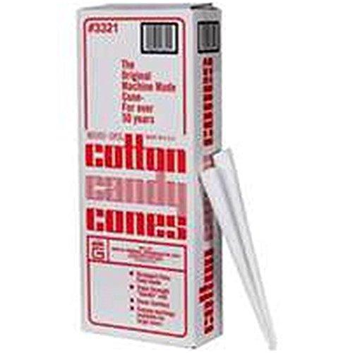 Plain Cotton Candy Cones Set