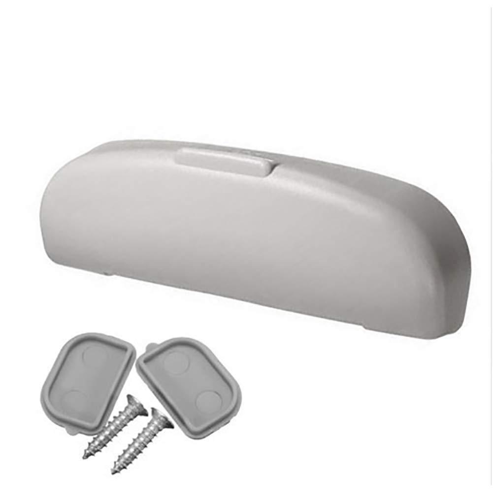 DishyKooker Estuche para Gafas Organizador para Caja Gafas de Sol Porta Bolsillos de Almacenamiento Adecuado para Peugeot Mazda Suzuki Jeep Gris