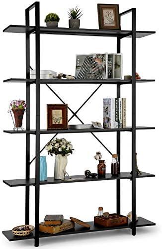 HIMIMI 5 Tier Bookshelf