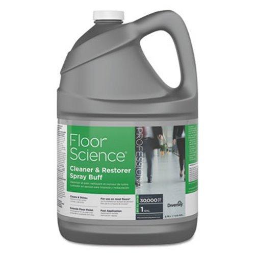Floor Science Cleaner/Restorer Spray Buff, Citrus Scent, 1 Gallon Bottle, 4/Case, Lot of 1
