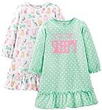 Simple Joys by Carter's Little Kid Girls' 2-Pack Fleece Nightgowns