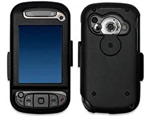 Black Hard Metal Aluminum Protector Cover Case For HTC Cingular 8525