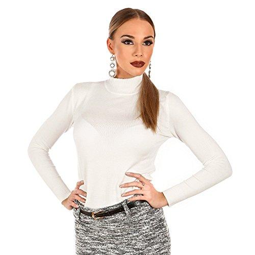Davani Femme Blanc Pull Davani Pull Xpw8rpxt