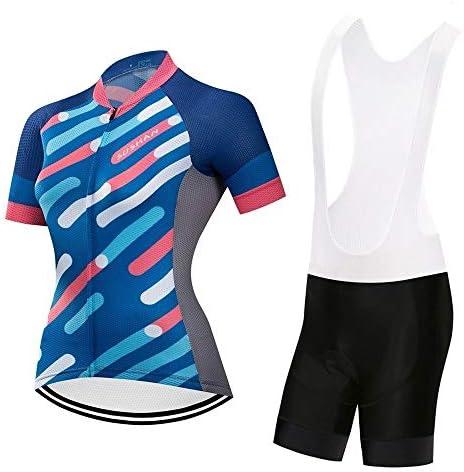 夏の女性の通気性ウィッキングショートパンツ半袖スーツ高密度スポンジクッションプロ乗馬スーツ