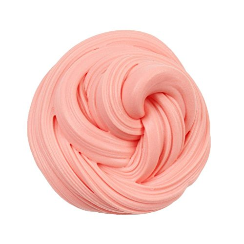 Drfoytg Solid Crystal Clay Toy,Stress Reliever Toys Slime Squeeze Toy Marshmallow Squishy Scented Art Education (E) (Marshmallow Squishy Bun)