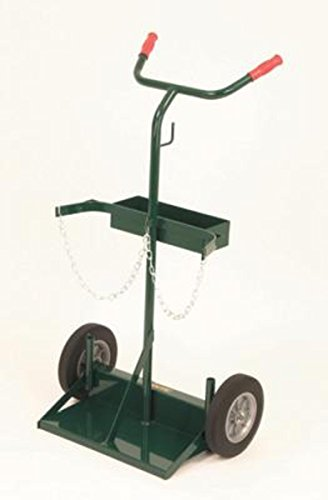 Radnor® Model 142-86 Cylinder Cart With Solid Rubber Wheels With Ball Bearings by Radnor