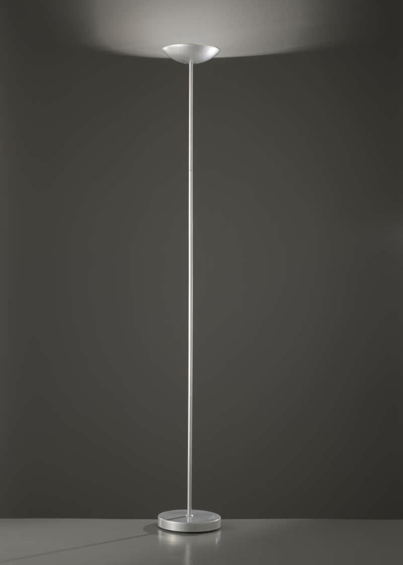 Lampada da terra Perenz 5918 A Piantana da terra con struttura in metallo color argento