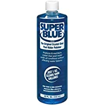 Robarb R20154 Super Blue Clarifier 1-Quart Crystal Clear Pool Water Polisher