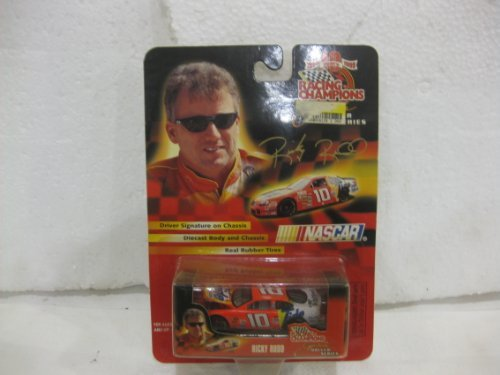 Ricky Rudd #10 Tide Ford Taurus Nascar In Orange Diecast 1:64 Scale Driver Series By Racing Champions