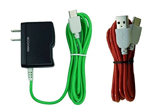 Smavco Bundle AC to DC Wall Travel Home Power Charger Ada...