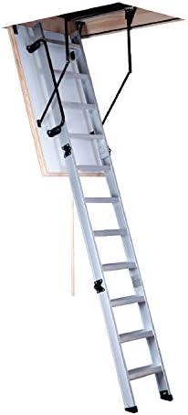 Skalar Sky-Aluminium Escalera de Techo, 120 x 60 cm: Amazon.es: Bricolaje y herramientas