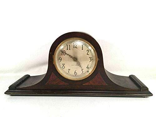 Seth Thomas Mantle Desk Clock Antique Tambor Made in USA