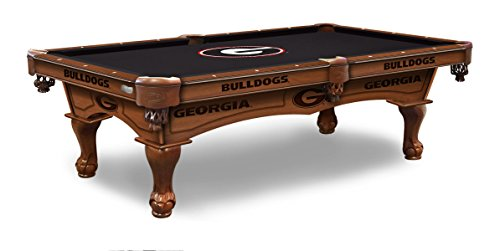 (Holland Bar Stool Co. University of Georgia 8' Logo Pool Table)
