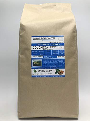 unroasted arabica coffee beans