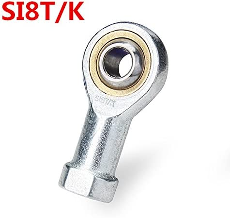 Queenwind 8mm SI8T/K メススレッドロッドエンドジョイントベアリングメトリックスレッド球状振動軸受