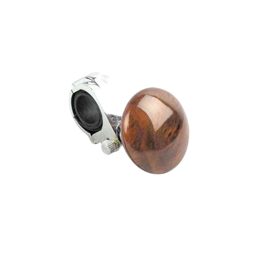 Egal ABS Alloy Auto Steering Wheel Spinner Handle Knob Car Assistant Power Steering Wheel Ball Accessory Mahogany M-Egal