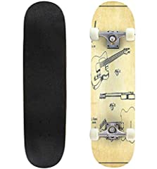 This 31x8 inch skateboard includes professional assembly. All skateboards arrived assembled and ready to ride straight out the box.                                            THE SETUP:              Wheels: 52mm, 95 A, White       Truc...