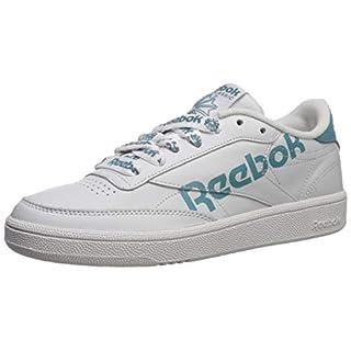 Reebok Women's Club C 85 Sneaker, Porcelain/MINERALMIST/White, 9.5 M US