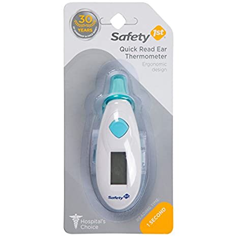 Amazon.com: Safety 1st lectura rápida termómetro de oído: Baby
