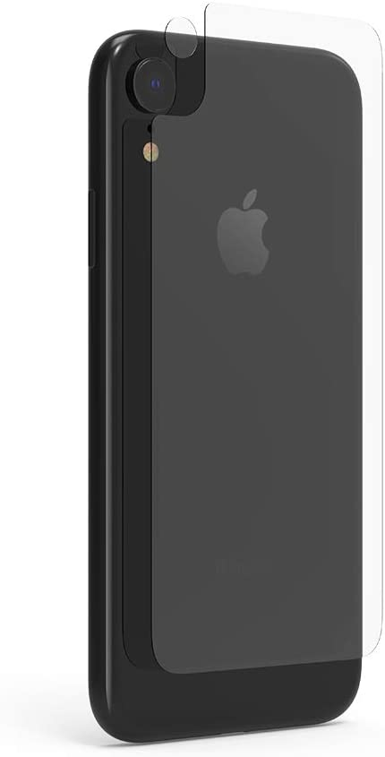 PureGear Extreme Impact for Apple iPhone XR, Back Cellphone Protector + Back Camera Lens Protector Only