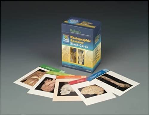 Rohen's Photographic Anatomy Flash Cards: 9780781778350