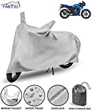 Fabtec Waterproof Bike Body Cover For Tvs Apache Rtr 180 Stabdard Size With Storage Bag Combo( Multicolour)
