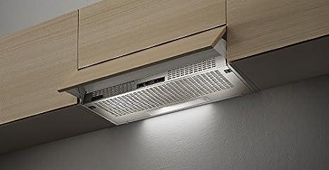 Faber 152 SRM LG A90 - Campana extractora (90 cm), color gris claro: Amazon.es: Grandes electrodomésticos