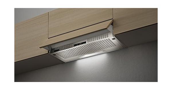 Faber 2152 SRM LG A90 - Campana extractora (90 cm), color gris claro: Amazon.es: Grandes electrodomésticos